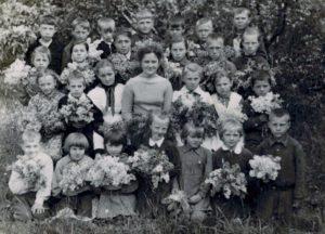 1960 год Северная школа. 1и4 класс