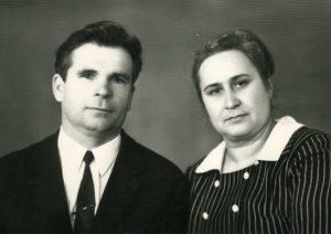 7.Супруги Петриченко-начало1970-х